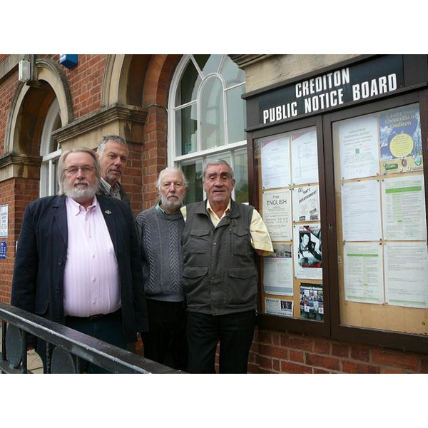 Lib Dem Councillors at Crediton Office