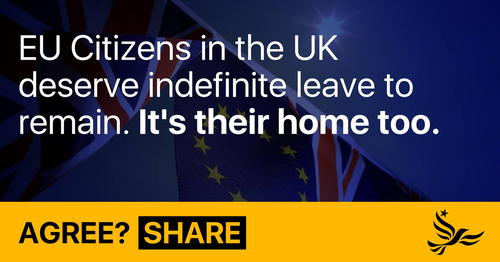 EU citizens deserve indefinite leave to remain graphic