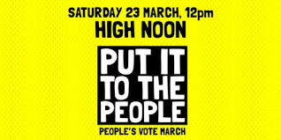 Peoples Vote Banner