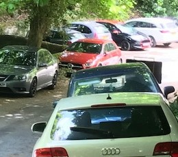 Parking at Lumsdale (Paul Cruise)