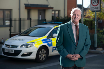 Brian Blake, Liberal Democrat candidate for the Police and Crime Commissioner